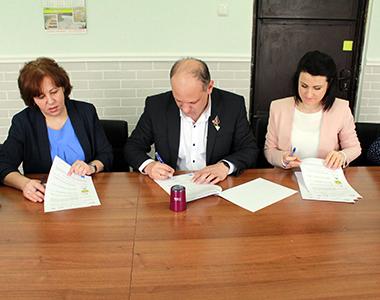 Semnarea Memorandumului cu Administrația Publică Locală din Cantemir