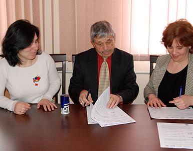 Semnarea Memorandumului cu Administrația Publică Locală din satul Sălcuța