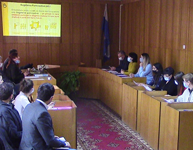Sporirea implicării active a societății civile la nivel local și a participării cetățenilor municipiului Bălți în procesul decizional local