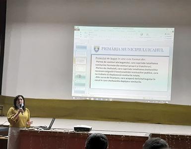 Audieri publice privind proiectul bugetului pentru anul 2021 a municipiului Cahul